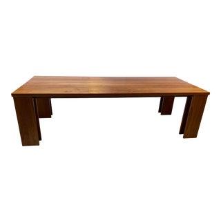 De La Espada No. 538 Long Walnut Dining Table For Sale
