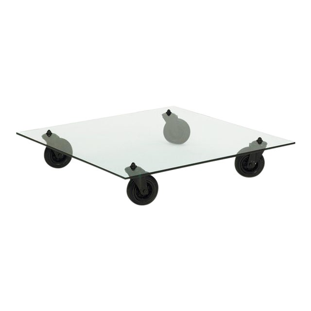 Coffee Table by Gae Aulenti for Fontana Arte, 1980s For Sale