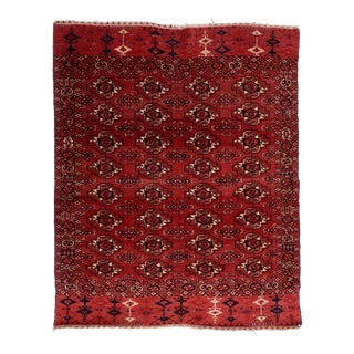 Mid 19th Century Tekke Turkmen Wedding Rug For Sale