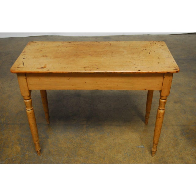 French 19th Century French Pine Console Table For Sale - Image 3 of 9