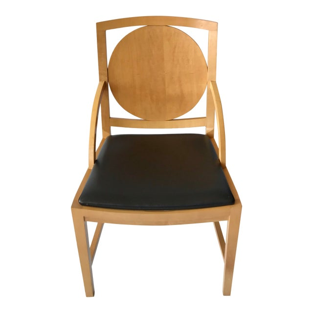 1980s Vintage Ward Bennett Accent Chair For Sale