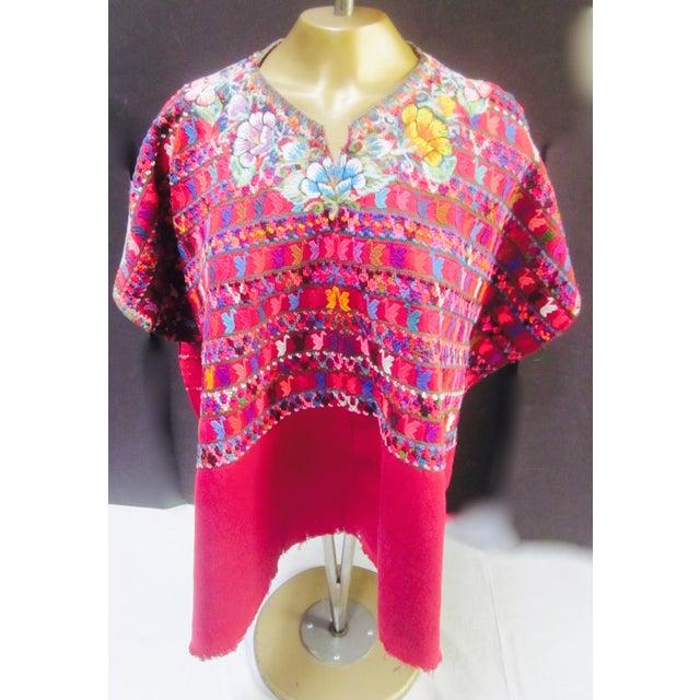 Guatemalan Fabric Boho Beach Textile - Image 6 of 10