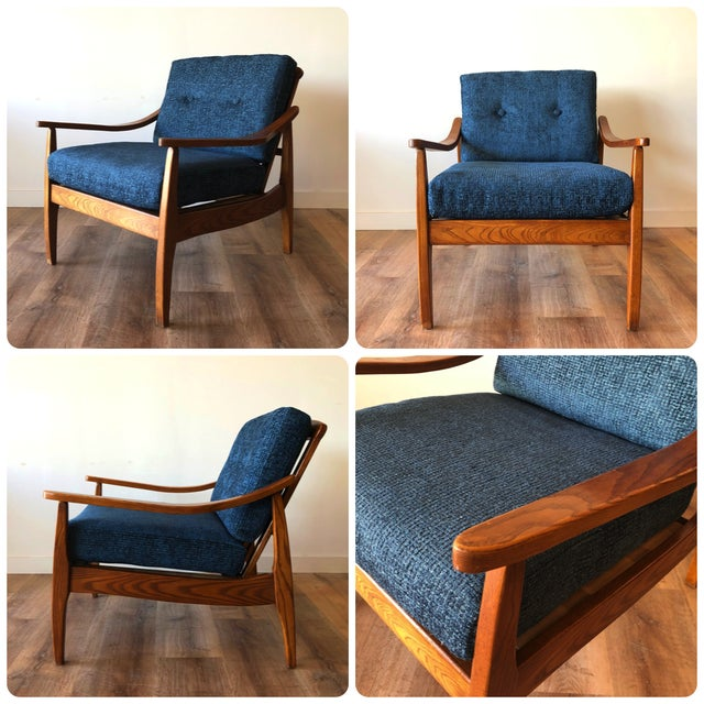 Mid-Century Modern Side Chair For Sale - Image 4 of 13