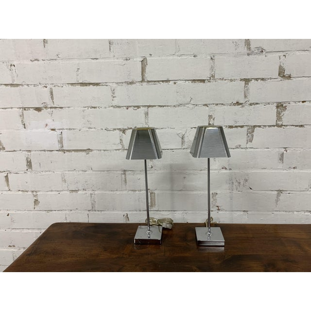 "Vintage ""Igor Paris"" Table Lamps - a Pair For Sale - Image 9 of 13"