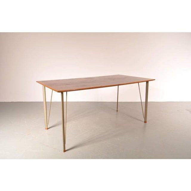 Dining Table by Arne Jacobsen for Fritz Hansen, Denmark, circa 1955 - Image 4 of 10