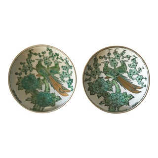 Gold Imari Catchall Dishes, Pair For Sale