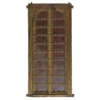 Architectural Highly Carved Teakwood Door & Frame