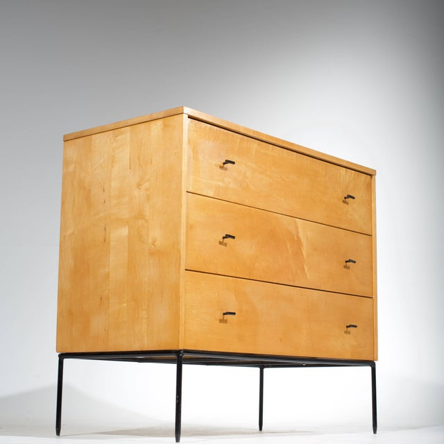 1950s Three-Drawer Dresser by Paul McCobb for Planner Group in Natural Maple For Sale - Image 5 of 11