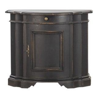 Antique Black Gustavian Sideboard For Sale