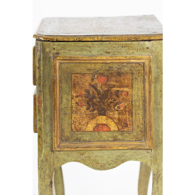 Paint A Painted Italian Commode, Circa 1720. For Sale - Image 7 of 13