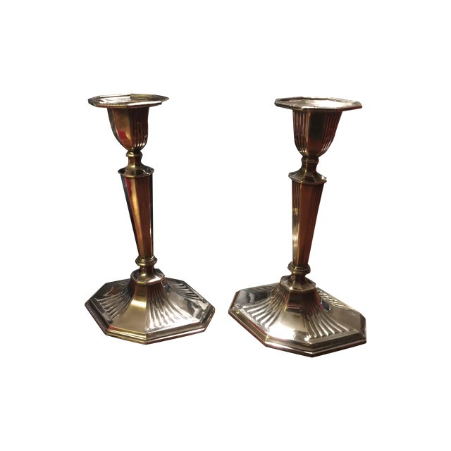 Reed And Barton Candlesticks - Pair - Image 1 of 5