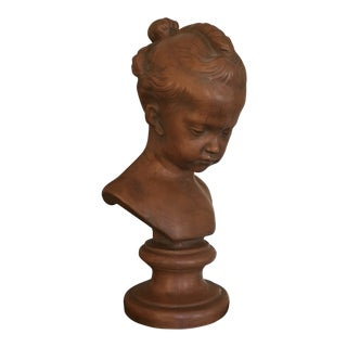 Traditional Chelsea House Decorative Bust Girl For Sale