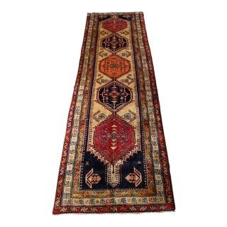 1950s Vintage Sarab Persian Rug - 3′7″ × 11′2″ For Sale