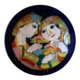Image of 1970's Bjorn Wiinblad for Rosenthal 1001 Nights Plate For Sale