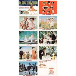 Mary Poppins 1964 U.S. Lobby Card Set For Sale