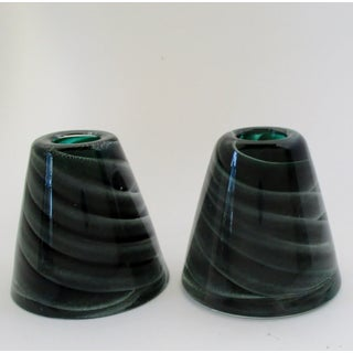 Barbini for V.A.M.S.A. Glass Candlesticks - A Pair Preview
