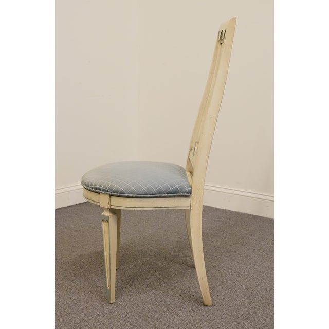 Late 20th Century Late 20th Century Vintage American of Martinsville Cotillion Collection French Provincial Chair For Sale - Image 5 of 8
