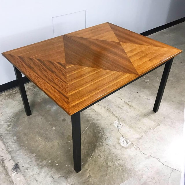 1960s Mid Century Modern Dining Set by Stanley For Sale - Image 5 of 13