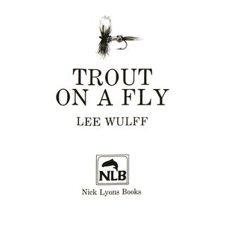 """1986 """"Trout on a Fly"""" Collectible Book Preview"""