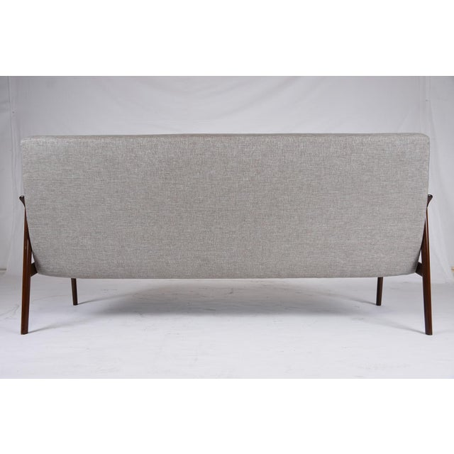 DanishModern Style Teak Wood Sofa For Sale - Image 9 of 9