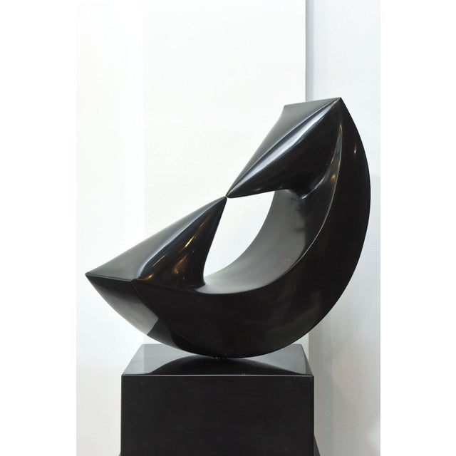 Marble Sculpture on Stand by Masami Kodama, Japan, 1960 For Sale - Image 9 of 11