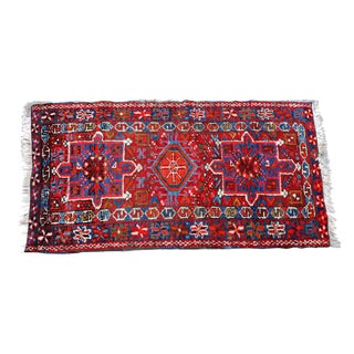 Antique Red Persian Karadja Rug -2′5″ × 4′1″