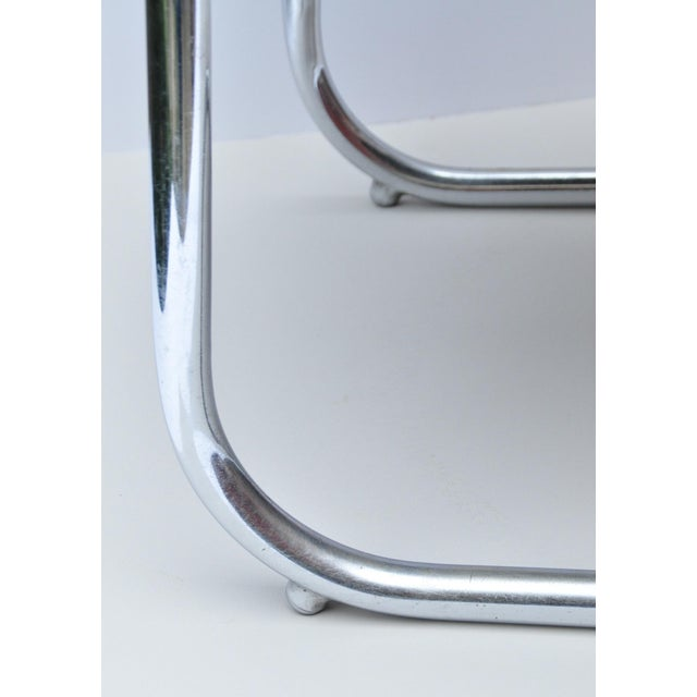 Silver Armchair by Kem Weber for Lloyd Manufacturing 1930s For Sale - Image 8 of 10