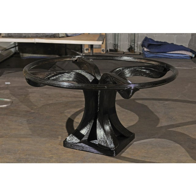 Extraordinary Trompe L'oiel Dining or Centre Table by Betty Cobonpue, circa 1980 For Sale - Image 9 of 13
