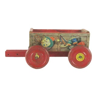 Roy Rogers Toy Wagon C.1956