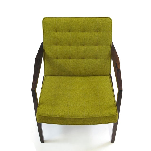 Forma Brazil Forma Brazil Rosewood Lounge Chair For Sale - Image 4 of 10