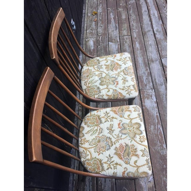Country Richardson Nemschoff Side Chairs - A Pair For Sale - Image 3 of 10