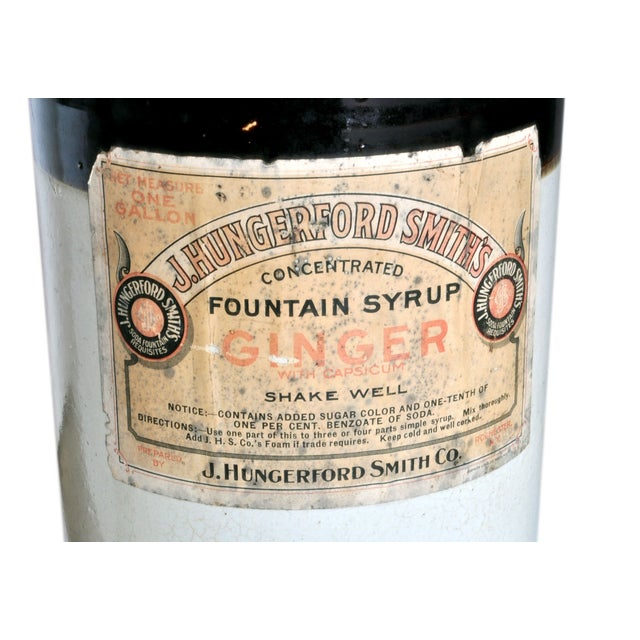 Vintage Fountain Syrup Jug Set - Image 2 of 3