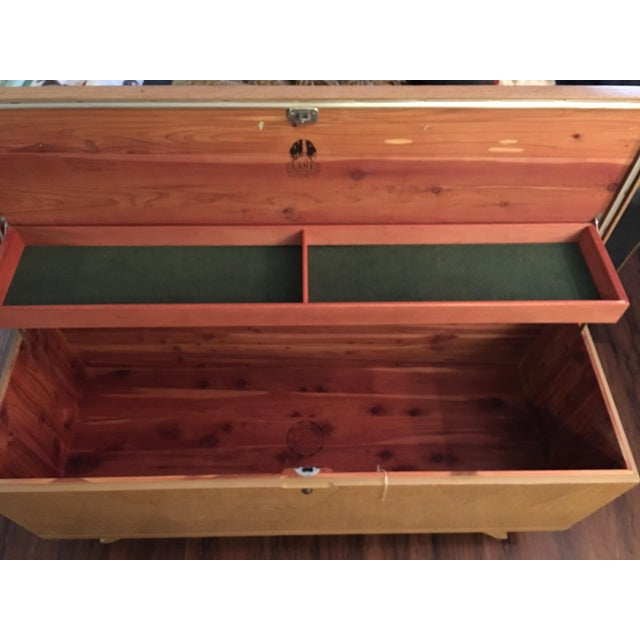 Lane Mid Century Cedar Chest - Image 5 of 7