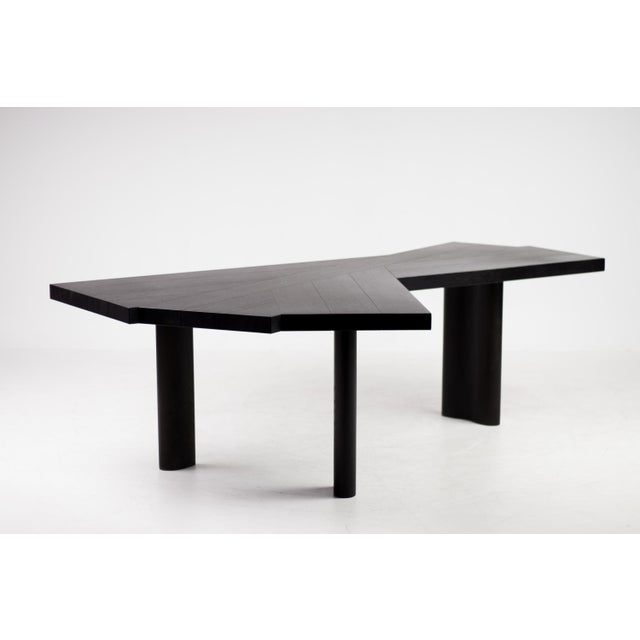 Charlotte Perriand Oak Table by Charlotte Perriand for Cassina For Sale - Image 4 of 12