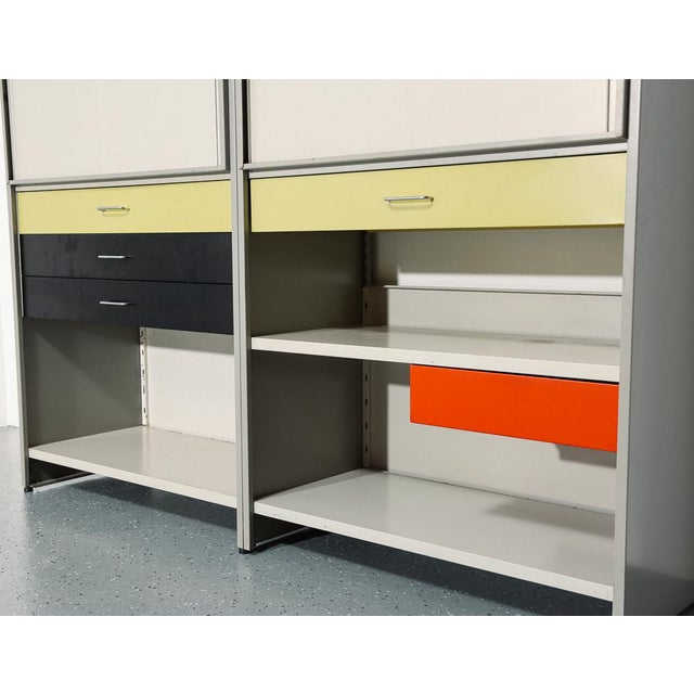 A.R. Cordemeijer Gispen 5600 Modular Storage System For Sale - Image 4 of 12