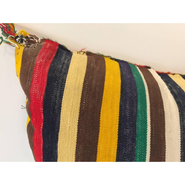Moroccan Berber Pillow With Tribal African Designs For Sale In Los Angeles - Image 6 of 8