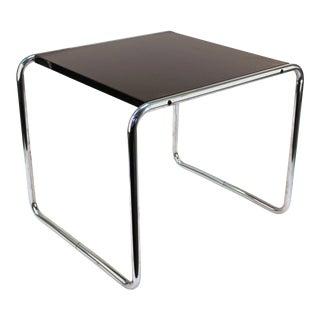 Marcel Breuer for Gavina Modern Laccio Side Table For Sale