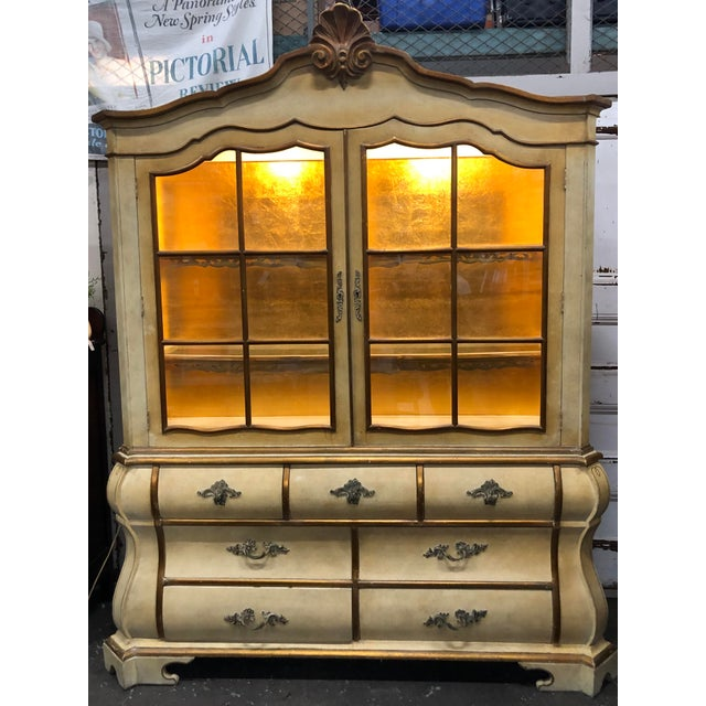 Antique Bombay China Cabinet Circa 1910 For Sale - Image 13 of 13