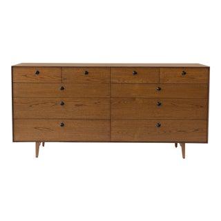 1950s Mid-Century Modern George Nelson for Herman Miller Thin Edge Dresser For Sale