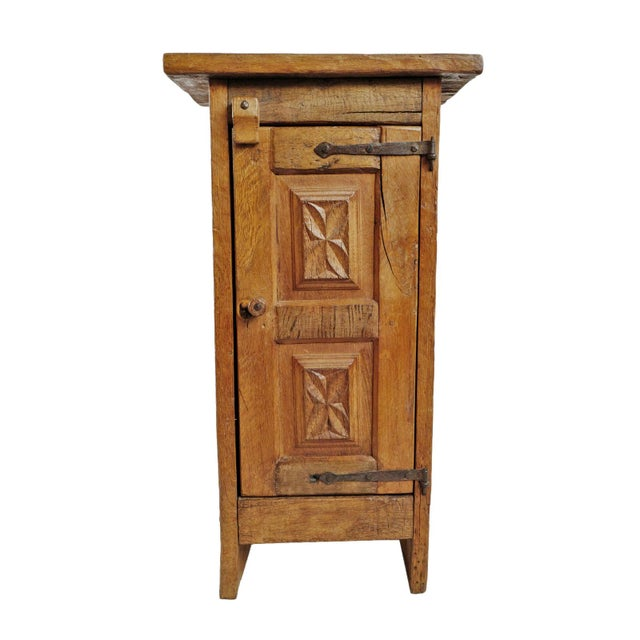 Iron Vintage Mesquite Side Cabinet For Sale - Image 7 of 7