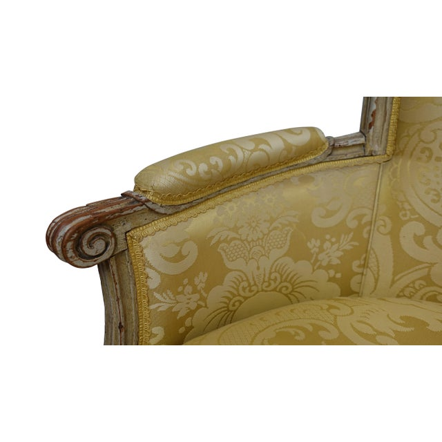 Louis XVI Style Bergere Chair, French, Late 19th-Early 20th Century For Sale In San Francisco - Image 6 of 8