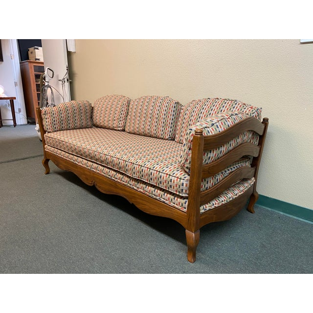 Design Plus Gallery presents a Thomasville French Country Reproduction Daybed. Daybed is reproduction of French Antique....