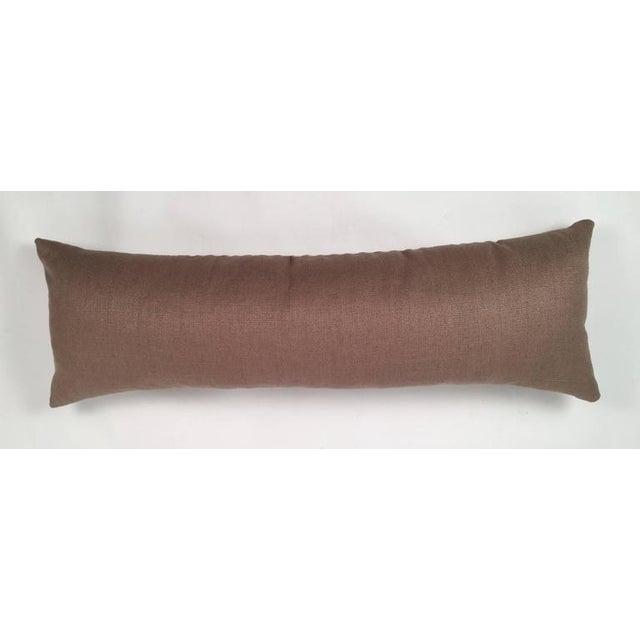 Original Folly Cove Designers Hand Block Printed Clover Pillow - Image 9 of 9