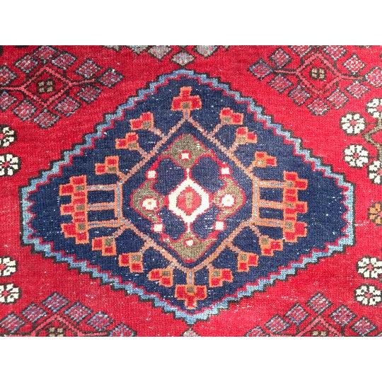 """Semi-Antique Persian Rug - 4'4"""" x 6'4"""" - Image 5 of 6"""