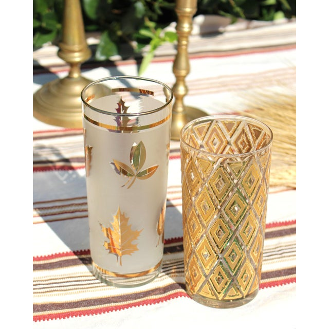 Vintage Tom Collins or Iced Tea Glassware - Set of 7 For Sale In Los Angeles - Image 6 of 8