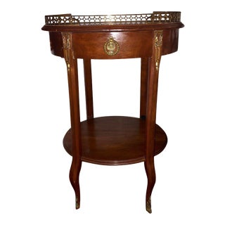 1920's Louis XV Style Accent Side Table For Sale