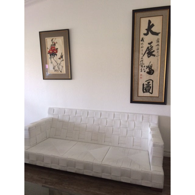 Angelo Donghia Vintage Block Island Sofa - Image 4 of 5