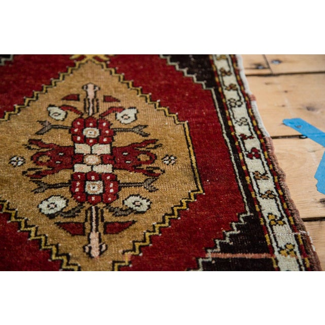 """Vintage Oushak Rug - 1'6"""" x 2'4"""" - Image 5 of 6"""