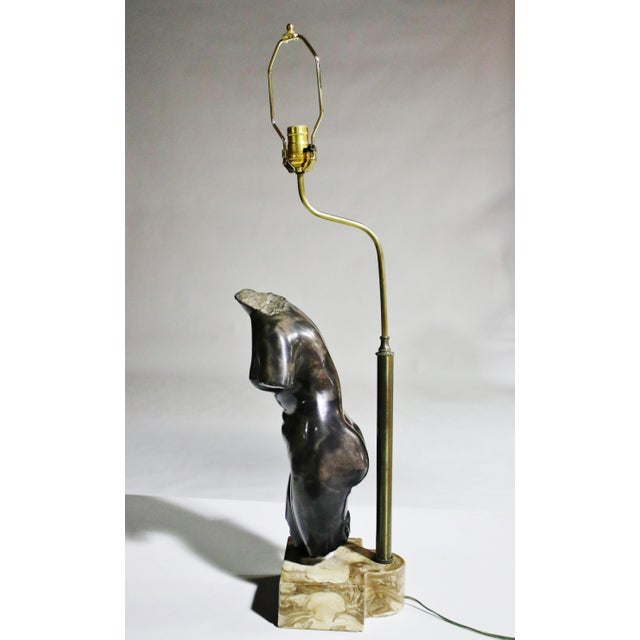 Venus Torso Lamp For Sale - Image 4 of 7