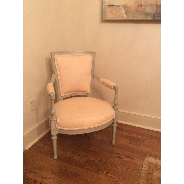French Ivory Fauteil Chair - Image 2 of 4